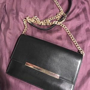 Zara small black purse